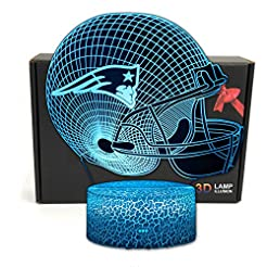 Deal Best NFL Team 3D Optical Illusion S...