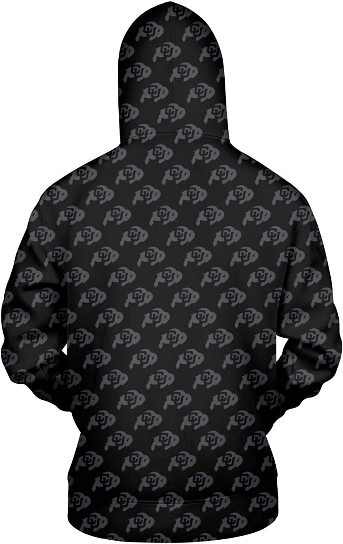TYUING 3D Printed Mens Hoodie Big Pockets Classic Athletic Long Sleeve Hoody Sweatshirts
