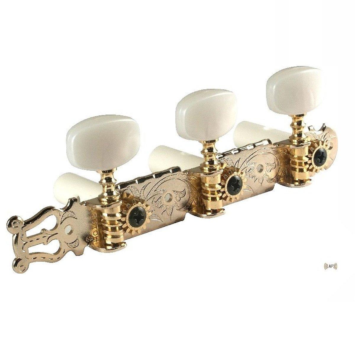 Dorado antiguo lyra-type Gotoh sintonizadores de guitarra clásica ...