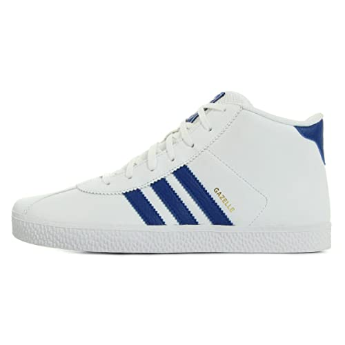 adidas Gazelle Mid JR Scarpe da Ragazzo, Bianco (Bianco), 37 1/