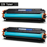 IKONG 2-BLACK 128 Toner Compatible for Canon 128 work with Canon ImageClass D530, MF4880dw, MF4890dw, MF4770n, MF4570dw, D550, MF4450, Canon FaxPhone L190 L100