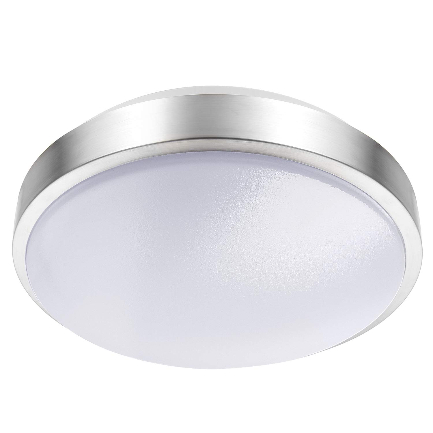 Lineway motion sensing ceiling light indoor outdoor led flush mount light fixture 15w 3000k ceiling lamp radar sensor for bathroom hallway stairway