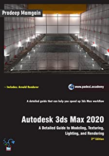 Amazon com: Autodesk 3ds Max 2019: A Detailed Guide to Modeling