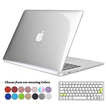 Funda MacBook Air 13 pulgadas (Versión: 2010-2017),TECOOL Delgado Cubierta Plástico Dura Case Carcasa con Tapa del Teclado para MacBook Air 13.3 ...