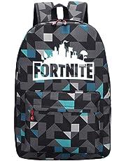 Luminous School Backpack, Men Women Shoulder Bag, Boys Girls Versatile Backpack, Plenty Storage Bag fit School (Lingge Blue)