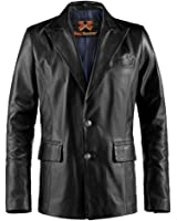 Forsaken Black Mens Leather Jacket