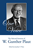 One Voice: The Selected Sermons of W. Gunther Plaut