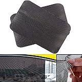 MIJORA-6342cm 2X PVC Car Auto Window Curtain Windshield Sticker Sun Shade UV Light