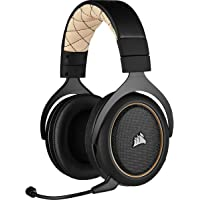 Corsair HS70 Pro Wireless Gaming Headset, Cream