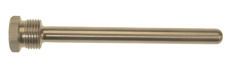 Vaina latón para sonda de temperatura; Diámetro interior 10mm, Longitud 100mm: Amazon.es: Bricolaje y herramientas