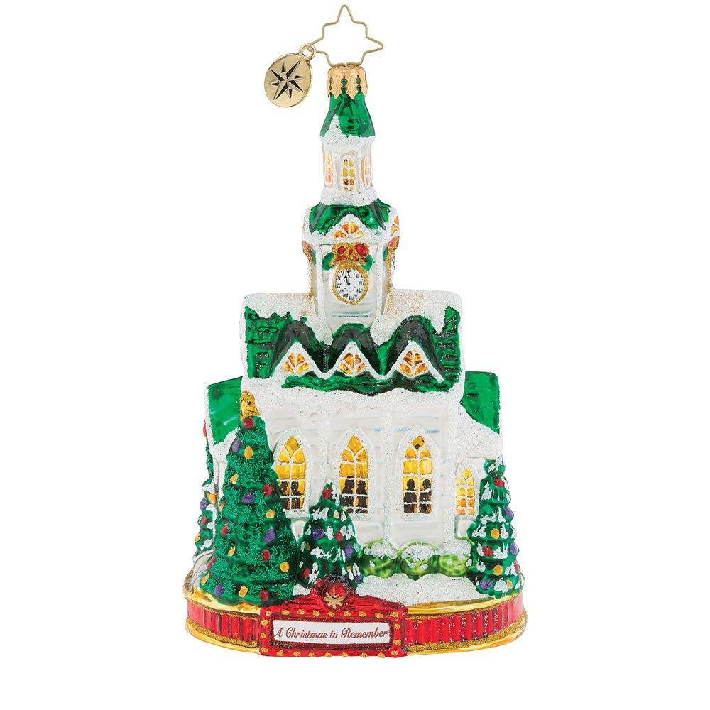 Christopher Radko Blessed Gathering Christmas Ornament