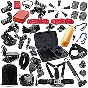 Theoutlettablet® Super pack 44 en 1 accesorios para Vídeo Cámara Accesorio para GoPro Hero 4 3+ 3 2 1: Amazon.es: Electrónica