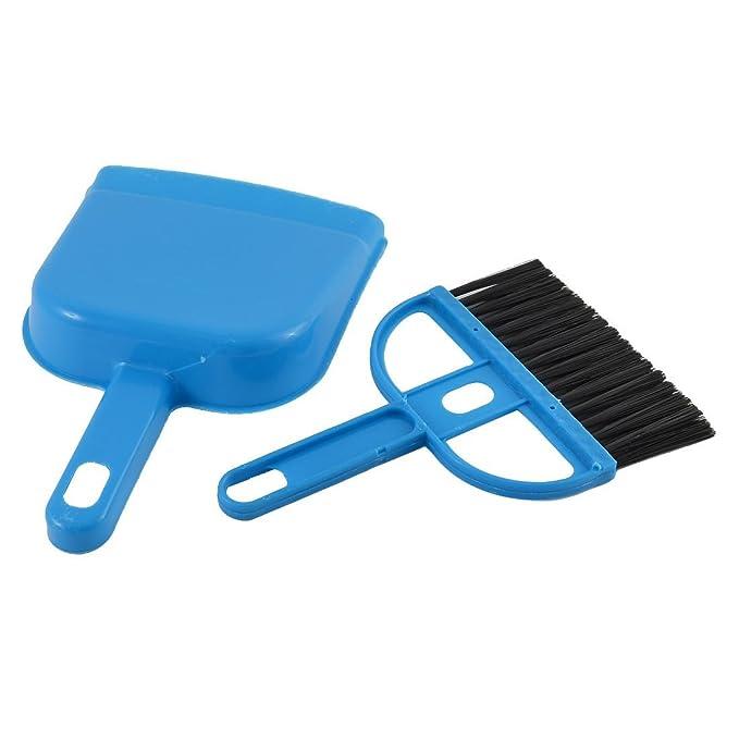 Amazon.com: eDealMax plástico ordenador Netbook limpiador del teclado del sistema de cepillo recogedor Azul Fucsia: Electronics
