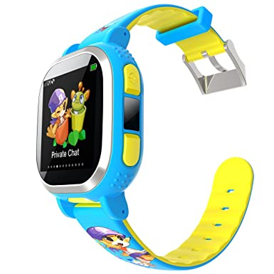 Tencent qqwatch niños reloj inteligente, anti-lost reloj inteligente con GPS Tracker