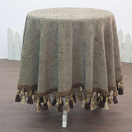 HL-PYL - Luxus im europäischen Stil, runde Tischdecke Tischdecke Tischdecke Tuch das Hotel Mat Tischdecke. H 240 X 240 Cm B0784LV9DW Tischdecken Neu  | Zu einem niedrigeren Preis