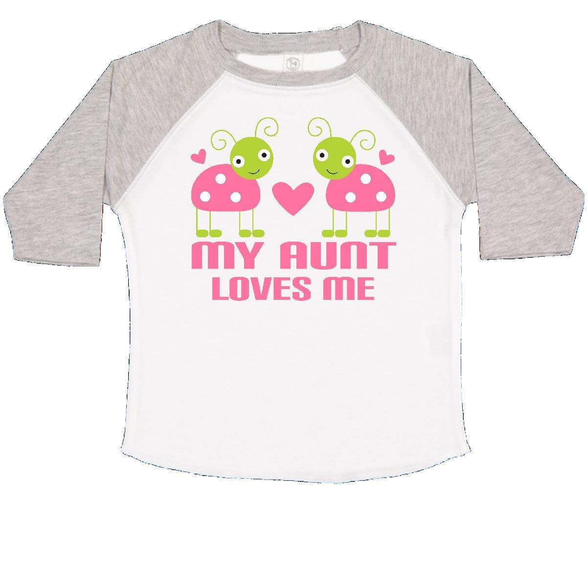 inktastic My Aunt Loves Me Ladybug Toddler T-Shirt