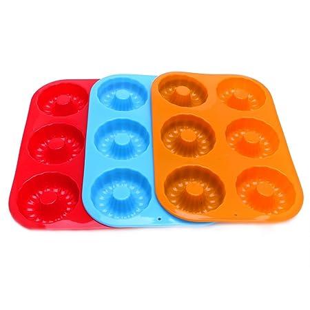 redriver Donut molde molde de silicona antiadherente resistente al ...