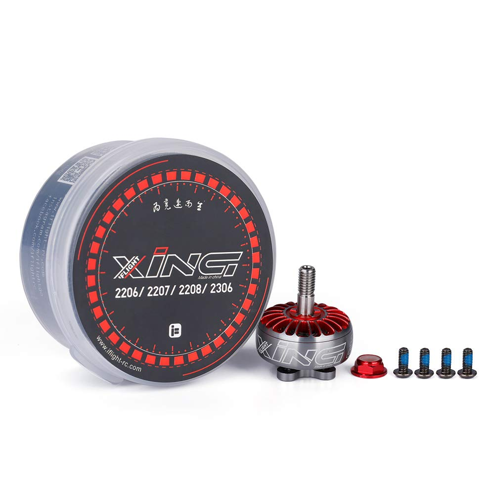 iFlight 4pcs XING CAMO 2208 1700KV Brushless Motor 3-6S for QAV FPV Racing Drone Quadcopter