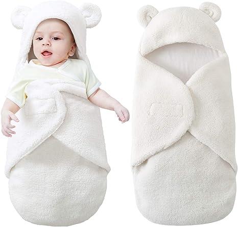 Yinuoday Manta con capucha para recién nacidos con capucha, Manta ...