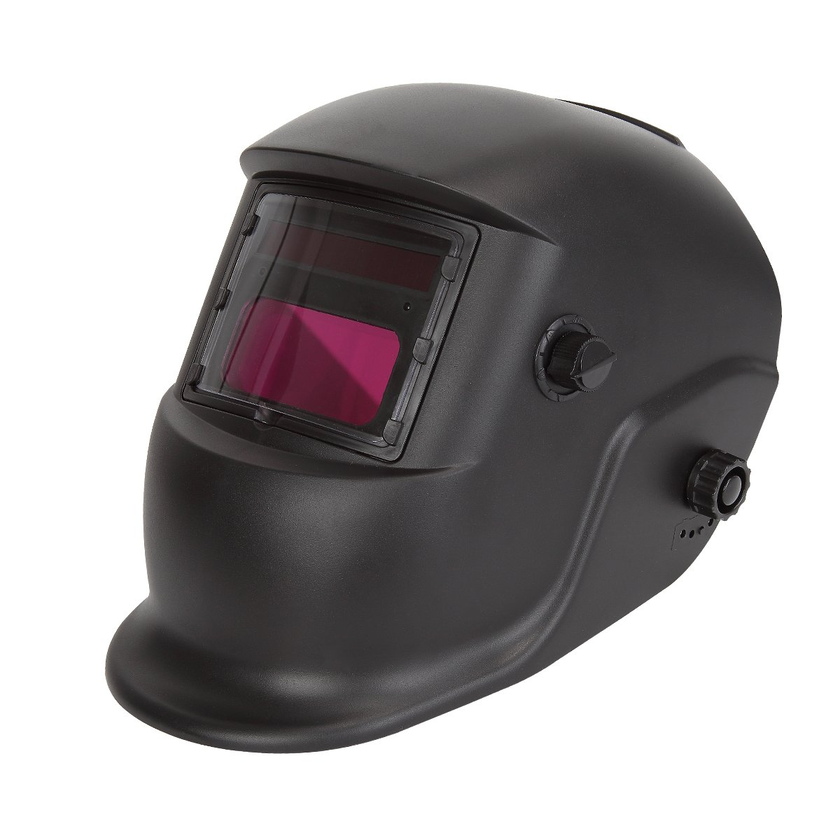 Colyn Solar Powered Welder Helmet w/Auto Darkening Hood and Adjustable Shade Sensitivity – 9-13/5-14 Range Mask for ARC MIG TIG Welding Machine – Black