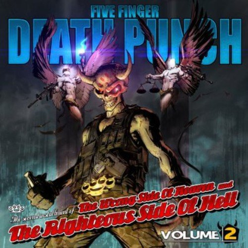 CD : Five Finger Death Punch - Wrong Side of Heaven & Righteous Side of Hell 2 (Clean Version)