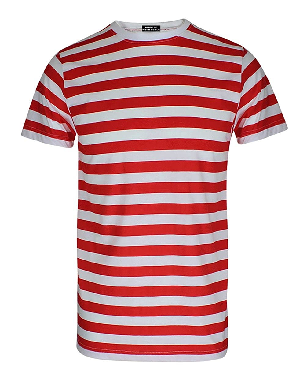 10dae91997 Where Can I Get A Red And White Striped Shirt   Top Mode Depot