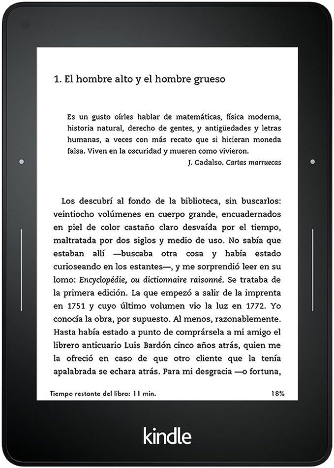 Kindle Voyage reacondicionado certificado: Diseñado con pasión ...