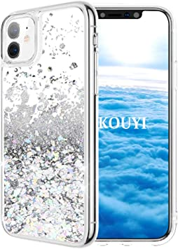 KOUYI Funda iPhone 11 (6,1 Pulgadas), Brillo Liquida Claro 3D ...