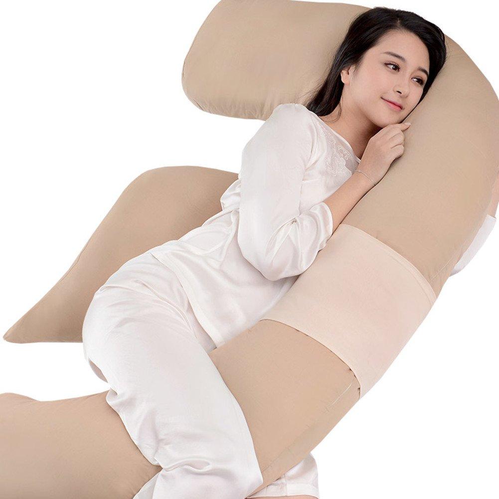HDSGFDSHGK pregnancy pillow multifunctional belt pillow side sleeping pillow abdominal products pillow sleeping side pillow cushion sleeping pillow-H