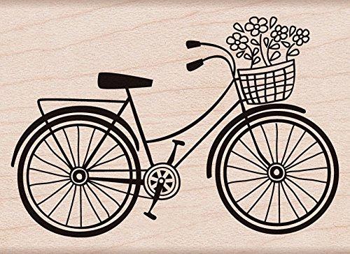 Hero Arts Woodblock Stamp, Bicycle