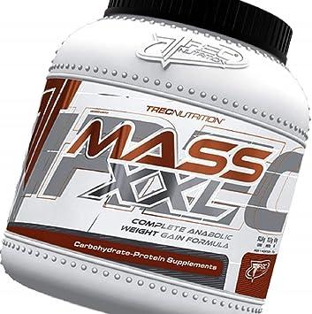 Trec - Misa Builder - MASS XXL 2kg - Completa anabólicos aumento de peso Formula - Rápido aumento de la masa muscular - Carbohidratos y complejo de ...