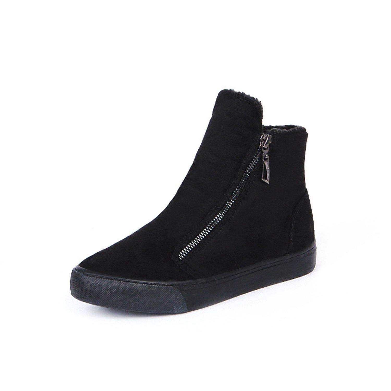 Amazon.com | Better Annie Women Winter Autumn Fashion Canvas Denim Snow Boots Shoes Zapatos Mujer Zapatillas Deportivas Size 35-40 | Ankle & Bootie