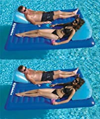 We are an authorized Swimline dealer! The 16141SF Cooler Couch from Solstice contains the unique two person opposed design. The heavy duty vinyl construction allows the sturdiness you need and the comfort you desire. All of these features com...