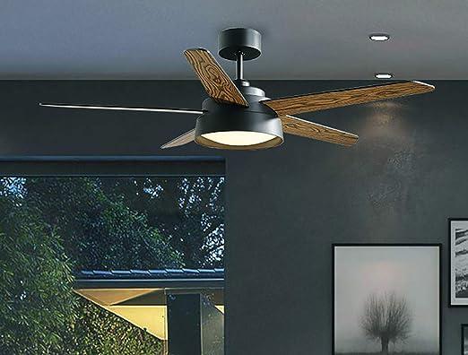 YBCD Ventilador de Techo de diseño Moderno de hélice/Ventilador de ...