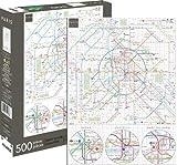 Aquarius 62131 Paris Metro Jigsaw Puzzle (500 Piece)