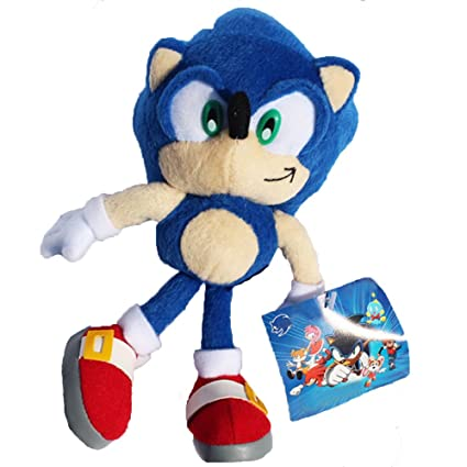 Amazon Com Blue Hedgehog Stuffed Animals Plush Toys Soft Dolls For