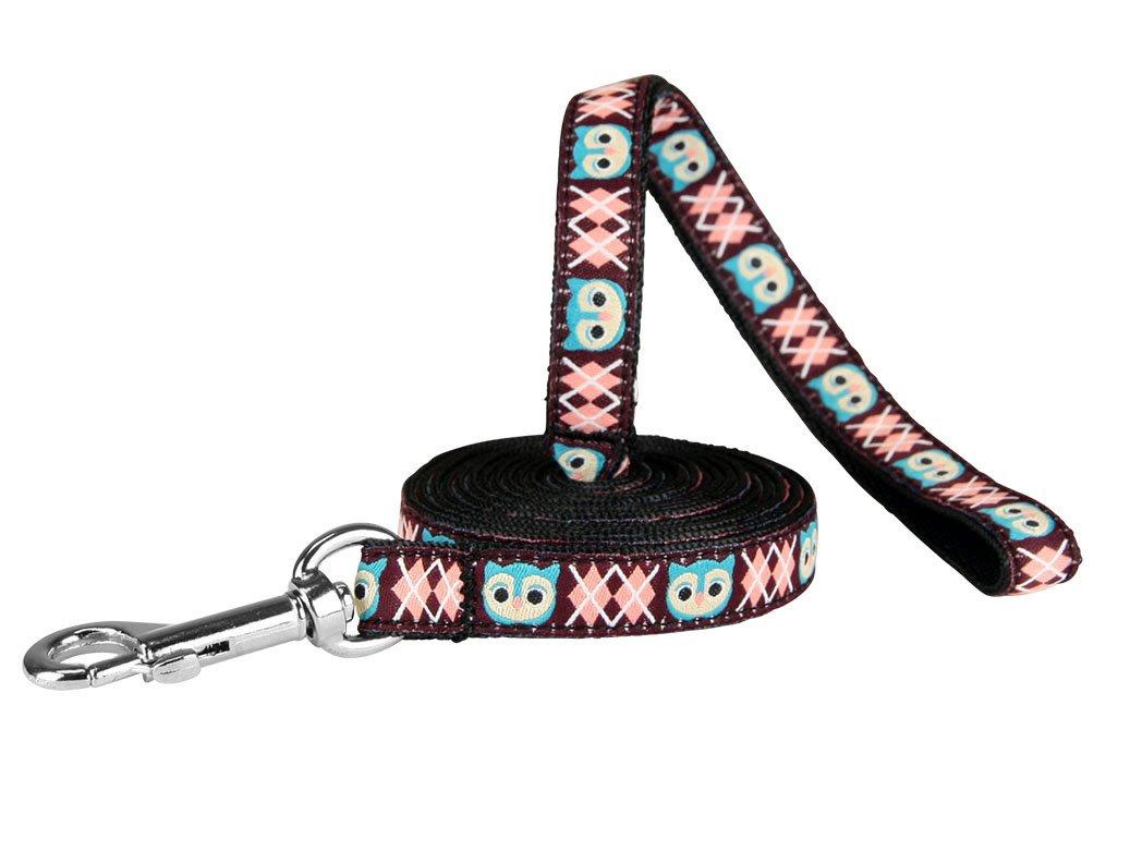 1 2  Width; 6' Length RC Pet Products Dog Leash, 3 4  x 6', Owl