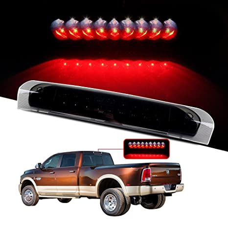 Amazon cciyu led 3rd brake lights cargo lamp assembly cciyu led 3rd brake lights cargo lamp assembly automotive tail lights smoke lens replacement fit for aloadofball Image collections