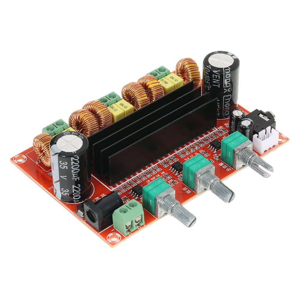 Kkmoon Tda7498 Class D 2 100w Dual Channel Audio Stereo Digital 2x100w Amplifier Circuit Hip4081a 200w Power Board Dc 15 34v Business Industry Science