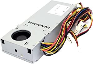 Genuine N1238 DELL 210w Optiplex GX270, GX60, GX240, GX260 and Dimension 4300S, 4500S Desktop Systems (DT) Power Supply (PSU), Compatible Dell Part Numbers: T0259, R0842, Model Numbers: HP-U2106F3, NPS-210AB A