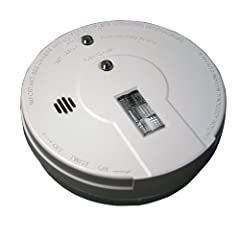Kidde i9080 Battery Operated Smoke Alarm with Safety Light Ionization Sensor