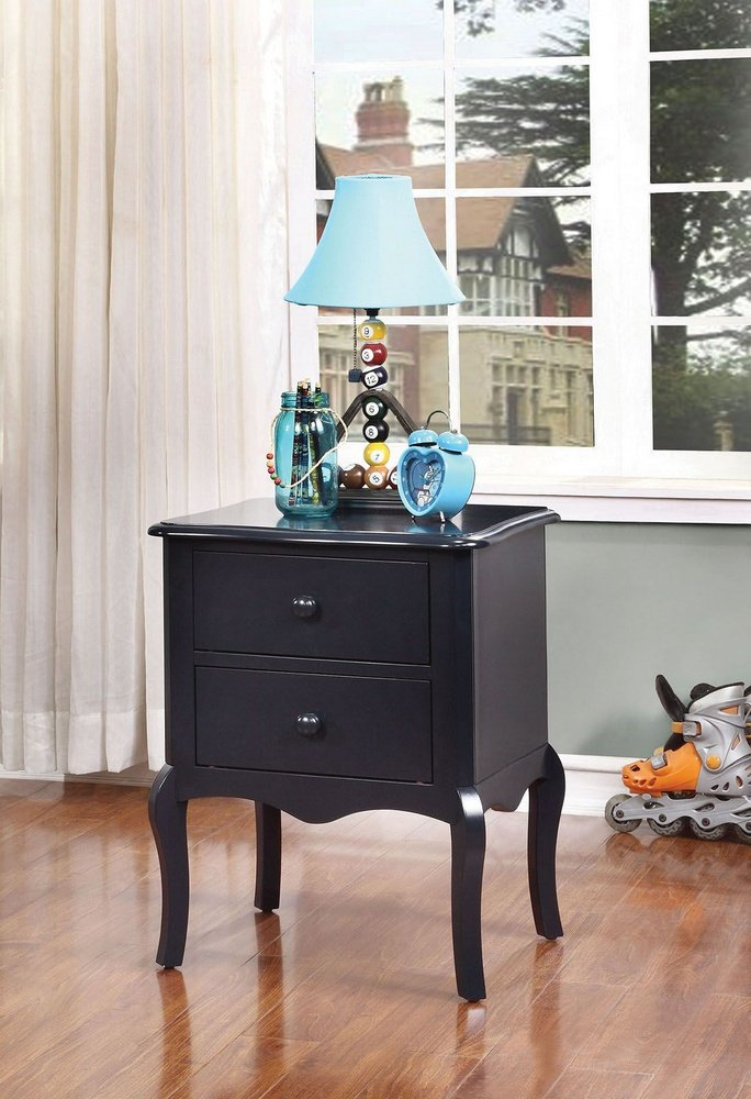 247SHOPATHOME IDF-AC325BL Childrens, nightstand, Blue