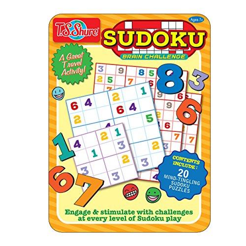 T.S. Shure Sudoku Puzzle Activity Tin