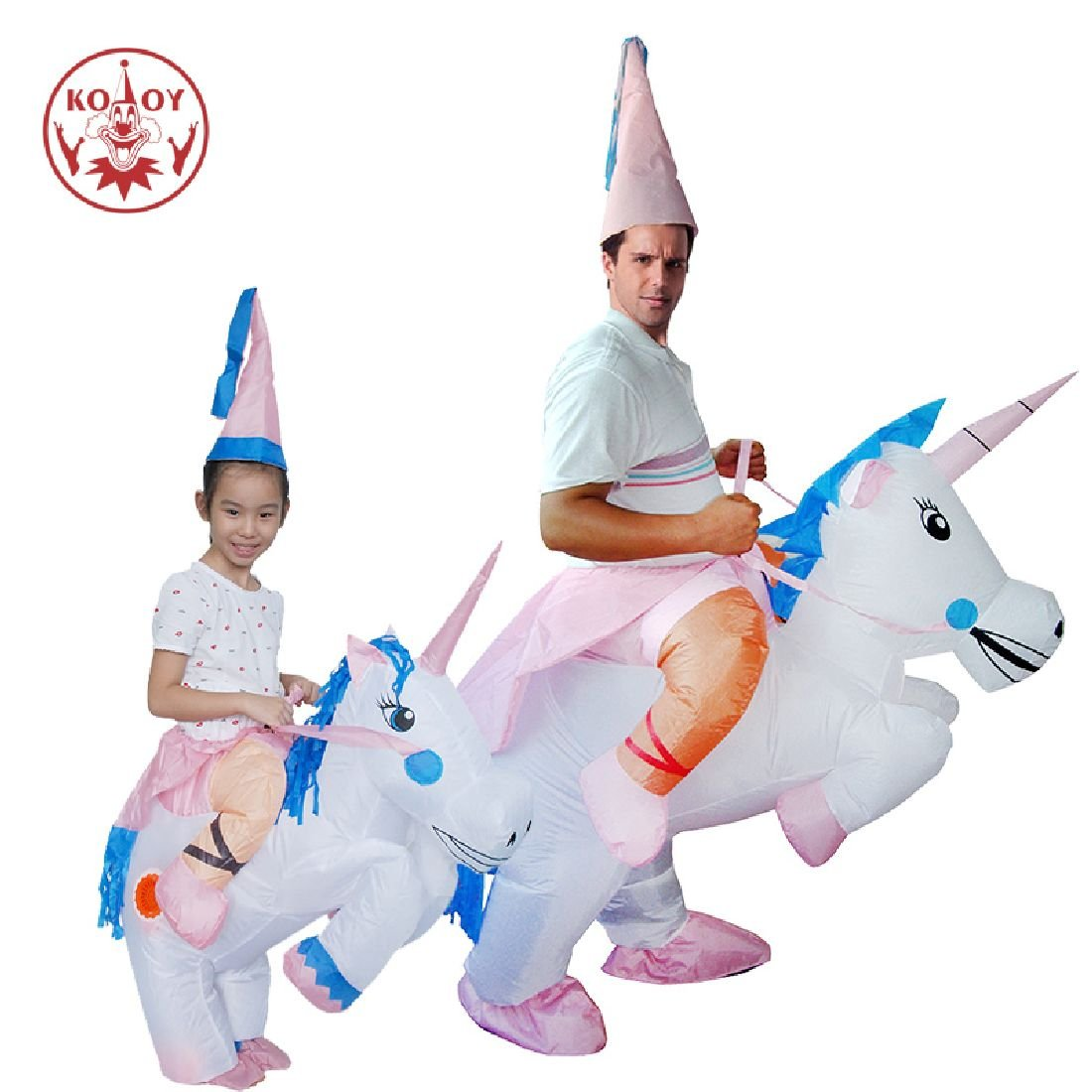 Inflatable Costume Unicorn Carnival Holiday Pegasus Costumes