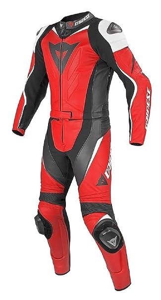 Amazon.com: leatheray hombre moda Moto Dainese traje de piel ...