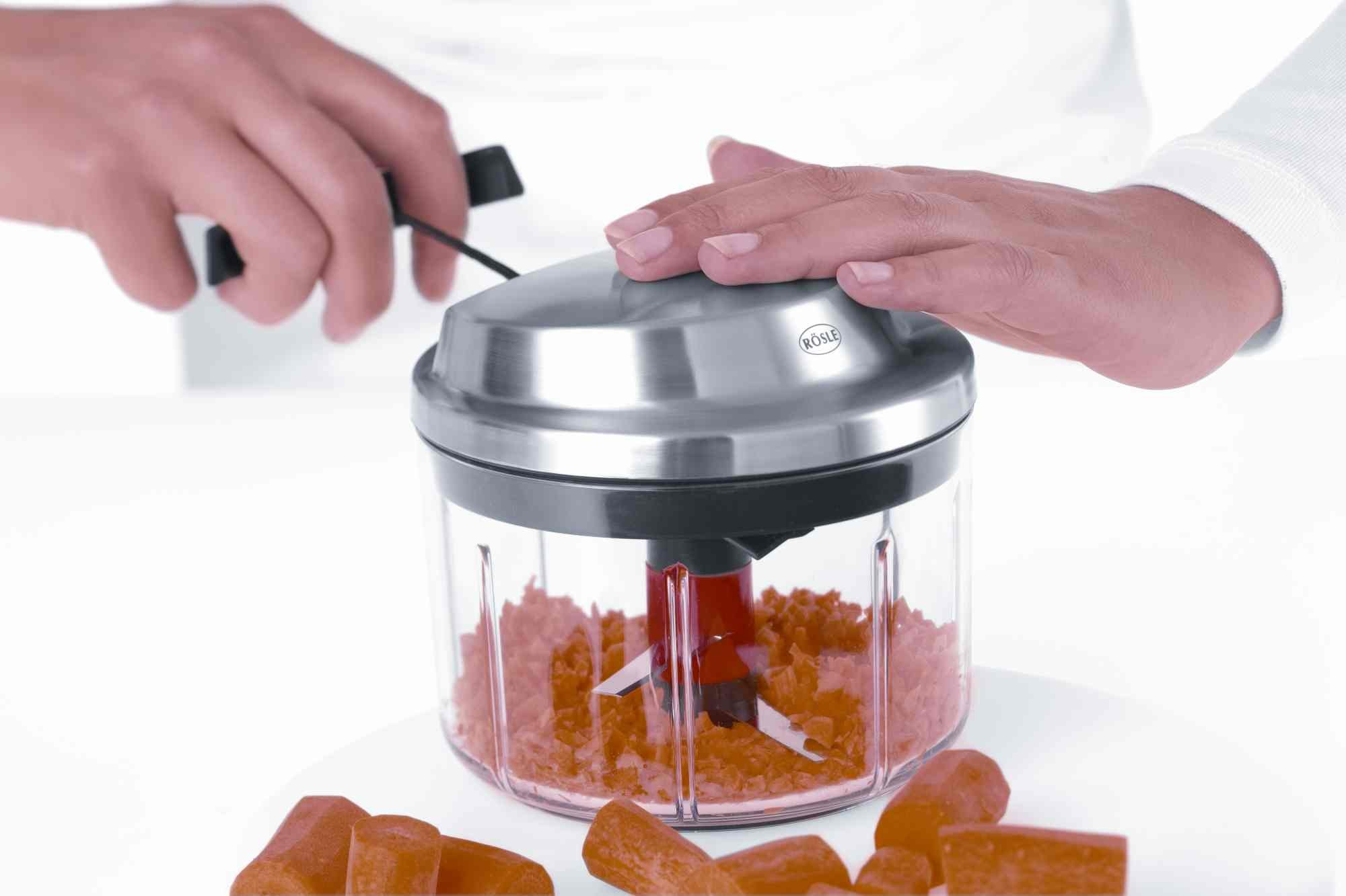 Rösle Manual Multi-Cutter with Spin-Drying Herbs Basket by Rosle (Image #8)