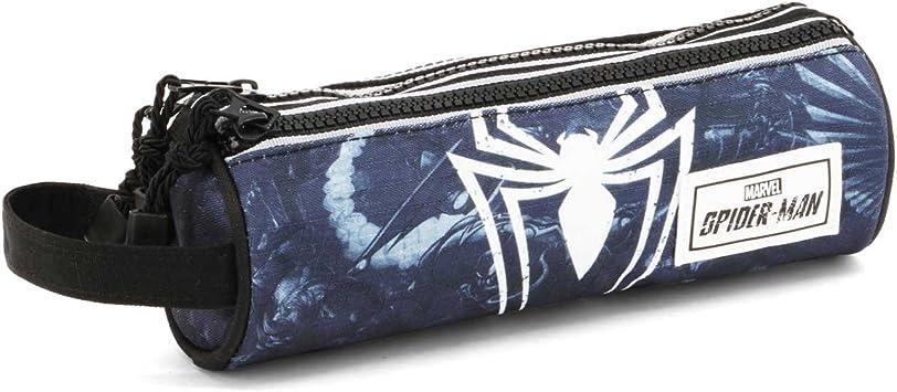Estuche portatodo cilíndrico de Spiderman Poison: Amazon.es: Equipaje