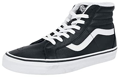 Vans SK8 Hi Reissue Black True White: : Schuhe