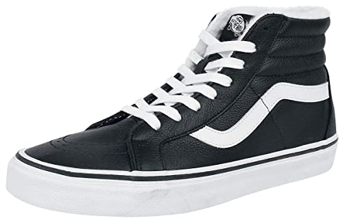 20afe87b4a8 Vans SK8-Hi Sneakers High Black-White  Amazon.co.uk  Shoes   Bags