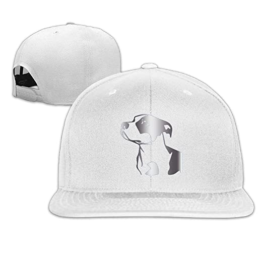 ad3f4f9dc2cb1 Image Unavailable. Image not available for. Color  Dlu Hi Pitbull Platinum  Style Baseball Snapback Cap(one ...